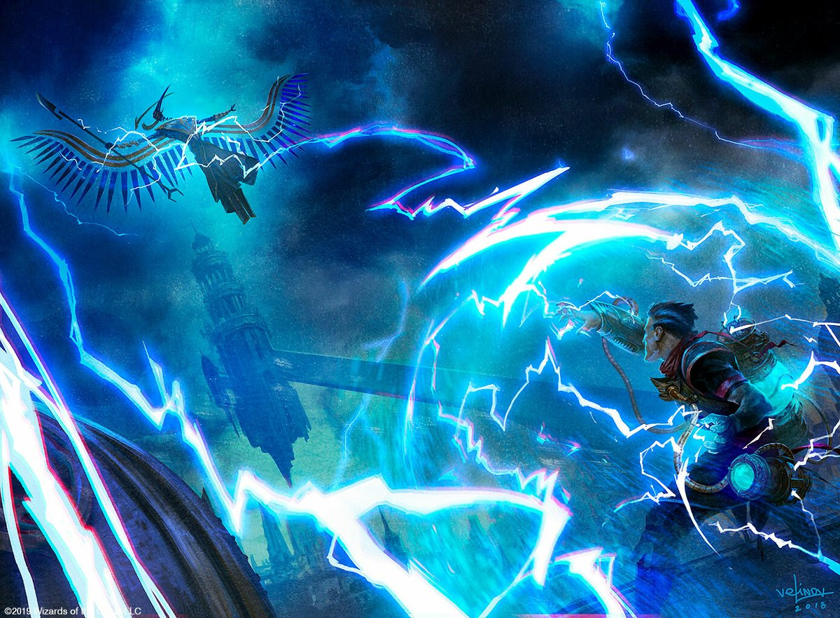 Izzet with War of the Spark by Adam Yurchick - Magic the Gathering (MTG)
