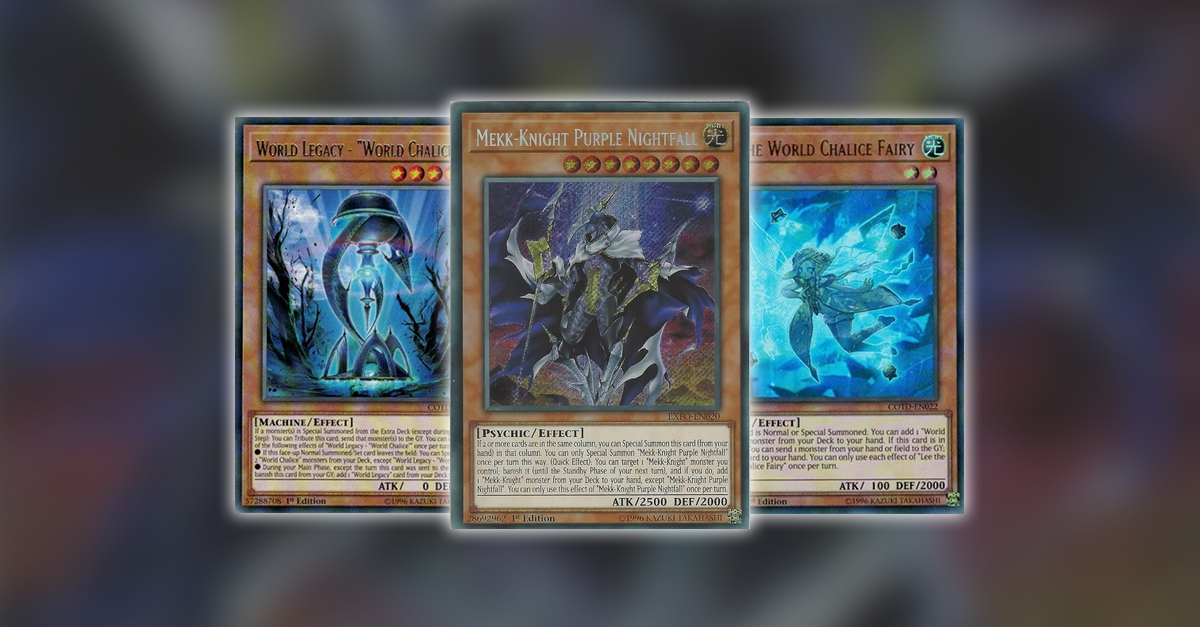 YuGiOh TCG Article - Building World Legacy With Mekk-Knights & World