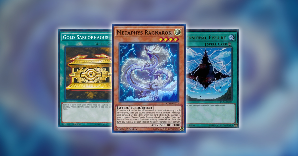 YuGiOh TCG Article - Making The Most Of Metaphys by Kelly Locke
