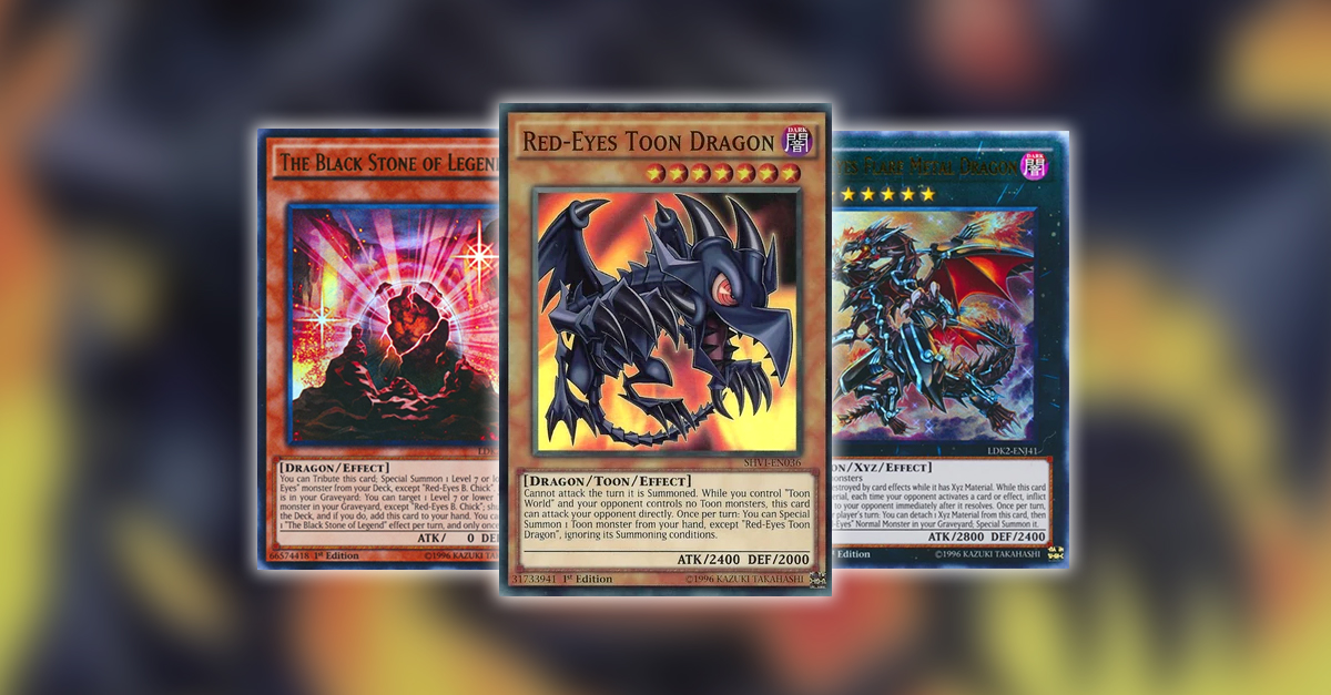 YuGiOh TCG Article - Rerouting: Red-Eyes Toons by Loukas