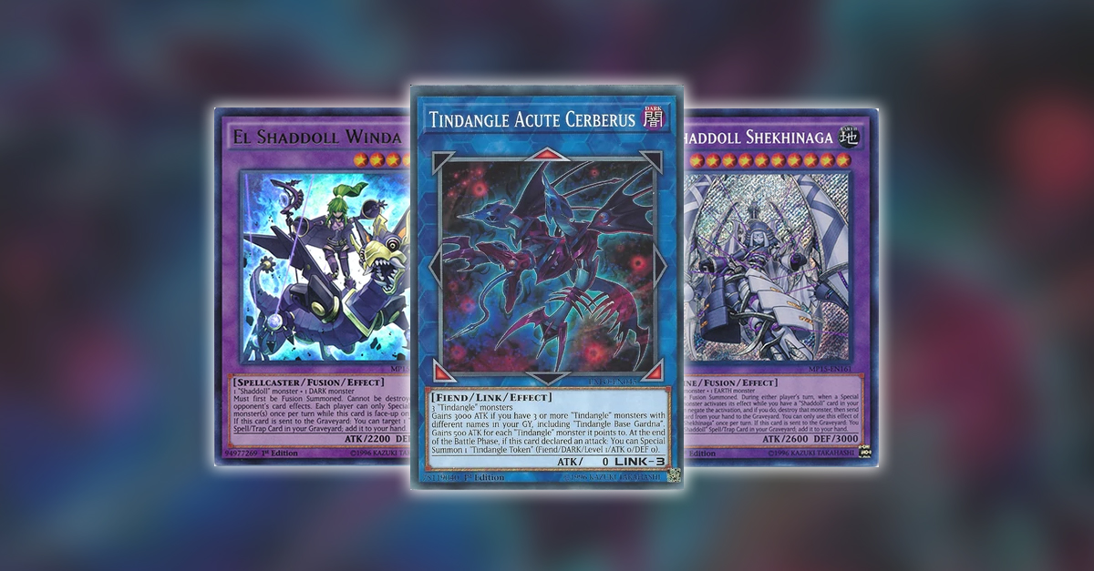 YuGiOh TCG Article - Rerouting Deck Fix: Tindangles by