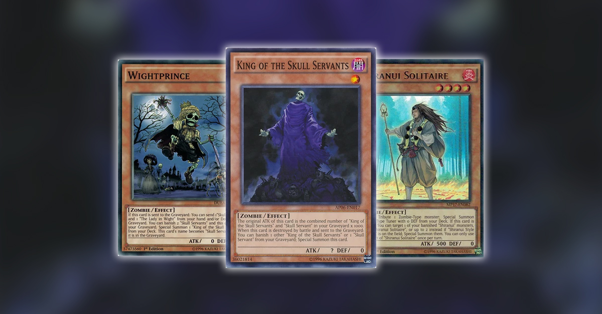 Yugioh tcg article rerouting deck fix skull servants by for Dark world structure deck amazon