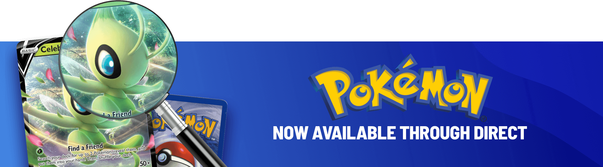 Pokémon is now available through TCGplayer Direct!